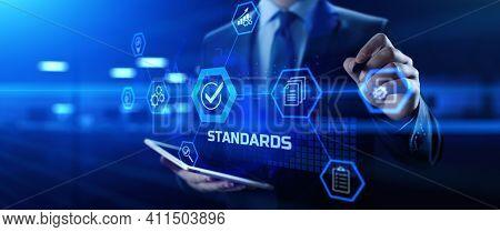 Standard Iso Quality Control Assurance Standardisation Certification.