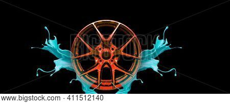 Car Alloy Isolated Legs White, Water Dispersion Technology, Background Clipping Part,car Alloy Isola
