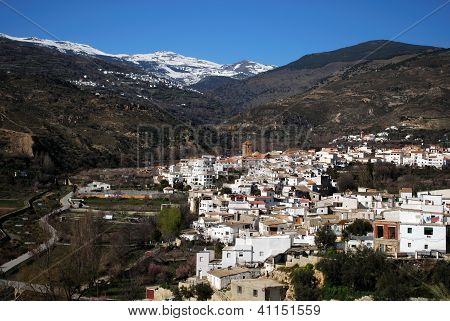 White village, Cadiar, Las Alpujarras, Spain.