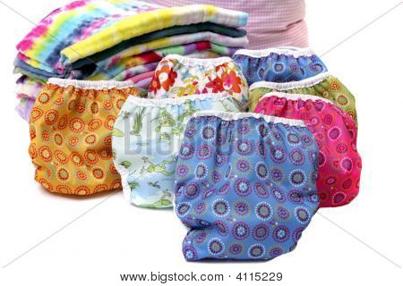 Cloth Diaper Stack