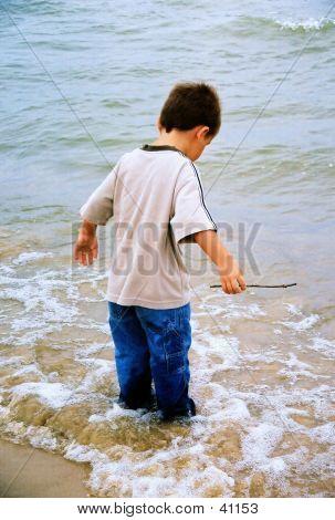 Little Feet In The Ocean