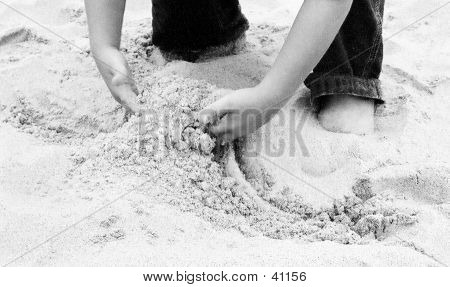 Hands In The Sand