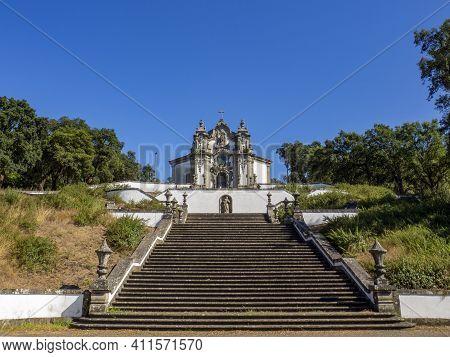 Church Of Santa Maria Madalena Near Braga, Portugal