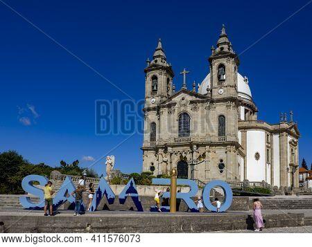 Sameiro Sanctuary Near Braga, Portugal