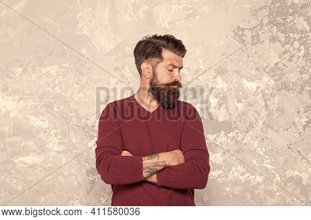 Manhood. Good Looking Guy. Grow Facial Hair. Hipster Appearance. Stylish Beard And Mustache. Beard F