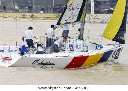 Sailing Race World Match Racing Tour