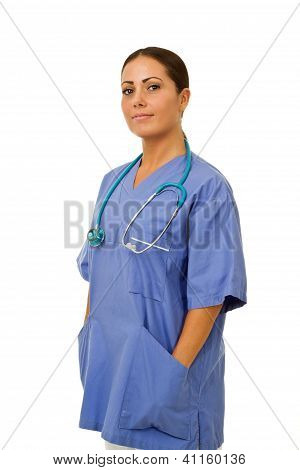 Professional Doctor Hands In Pocket