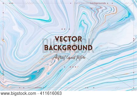Bright Resin Art Abstract Background. Multicolor Marble Surface, Mineral Stone Texture. Violet, Oran