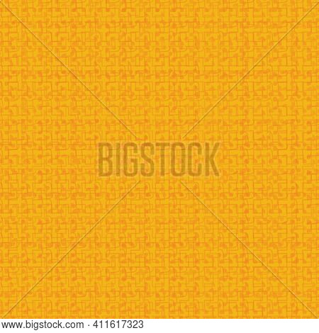 Abstract Yellow Monochromatic Seamless Vector Pattern Texture. Surface Print Design For Fabrics, Sta