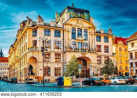 Prague,czech Republic- September 13, 2015: Quarters And Streets On  Prague's Mala Strana(lesser Town