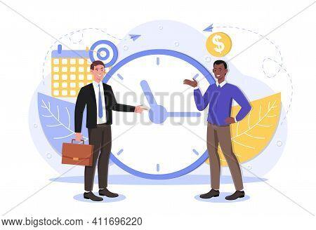 Self Discipline And Motivation Concept. Time Management Self Management Self Control Target Producti