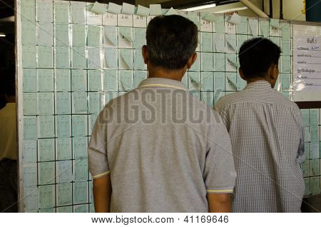Betting Slips, Thailand Racecourse