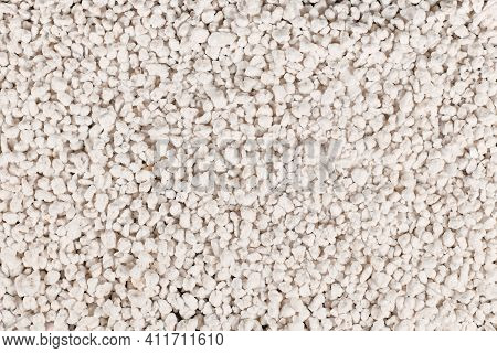 Perlite, A Volcanic Glass Mineral With Low Density Often Used For Soil Amendment To Prevent Compacti