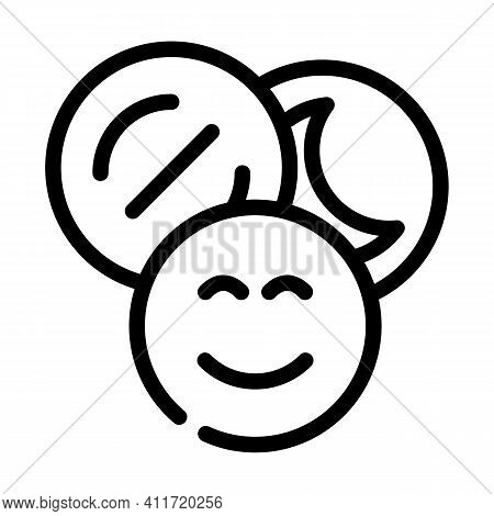Narcotic Drugs Line Icon Vector Illustration Line