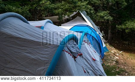 Campsites Are Places To Relax, Enjoy And Explore The Outdoors. Many Campsites. This Is Popular Among