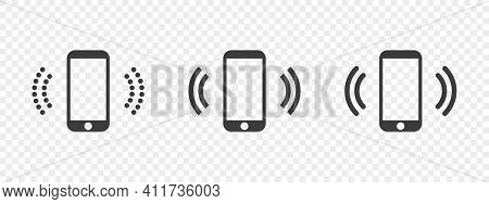 Cell Phone. Ringing Phone Icons. Hotline Icons. Smartphone Icon. Vector Illustration