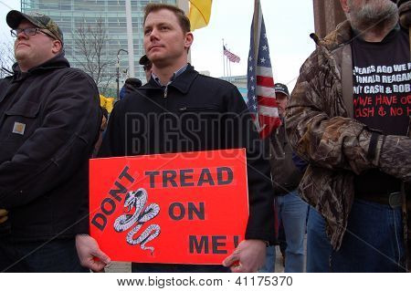 SECOND AMENDMENT GUN APPRECIATION RALLY IN BUFFALO, NY USA January 19, 2013