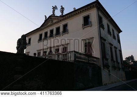 Exterior Of The Famous Villa In Vicenza Known As Villa Valmarana Ai Nani