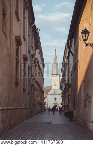 Kosice, Slovakia - September, 2016: The Calvinist Church Or Also The Reformed Church Is Church In Th