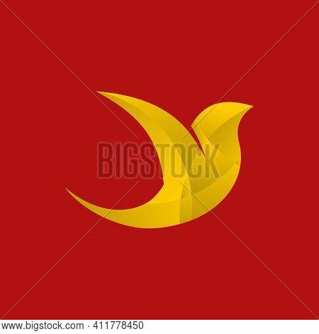 Bird. Bird Logo. Bird Vector. Bird Illustration. Abstract Bird. Animal Vector.