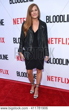 LOS ANGELES - MAY 24:  Schuyler Fisk arrives for  the 'Bloodline' Season 3 Premiere on May 24, 2017 in Culver City, CA