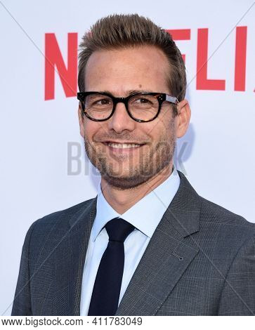 LOS ANGELES - MAY 24:  Gabriel Macht arrives for  the 'Bloodline' Season 3 Premiere on May 24, 2017 in Culver City, CA