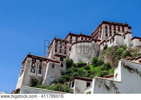 中国-西藏-拉萨-布达拉宫