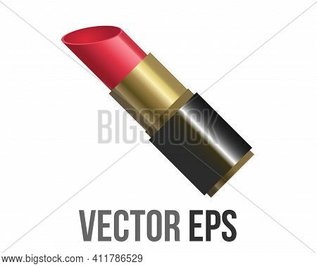 The Isolated Vector Red Fashionable Lip Gloss Makeup Lipstick Icon