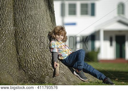 Absence, Alone Lonely Kid. Loneliness Child. Children Depression, Problems Kids Negative Emotions