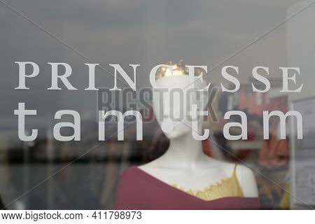 Bordeaux , Aquitaine France - 03 08 2021 : Princesse Tam Tam Text Brand And Logo Sign For Women Shop