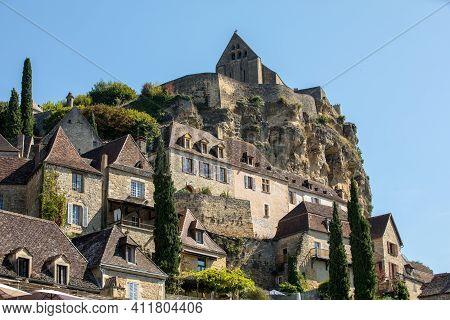 Medieval Village Of Beynac Et Cazenac, Dordogne Department, France