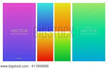 Modern Rich Bright Gradient Background For Design, Wallpapper, Screen, Mobile App, Cover, Banner, Po