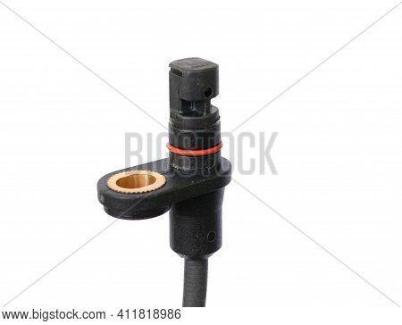 Abs Sensor. Vehicle Wheel Speed Sensor. Hall Magnetic Sensor. Detail Of The Car. Anti-lock Braking S