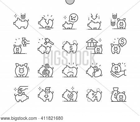 Piggy Bank. Savings For Period. Accumulation. Coin, Save, Finance, Economy, Saving, Investment And F