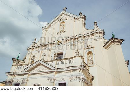 Cathedral Basilica Of Assumption Of The Blessed Virgin Mary And St. John The Baptist In Przemysl, Po