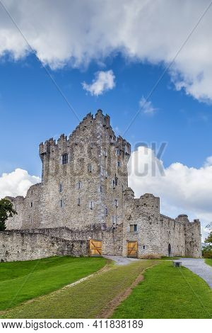 Ross Castle Is A 15th-century Tower House In County Kerry, Ireland