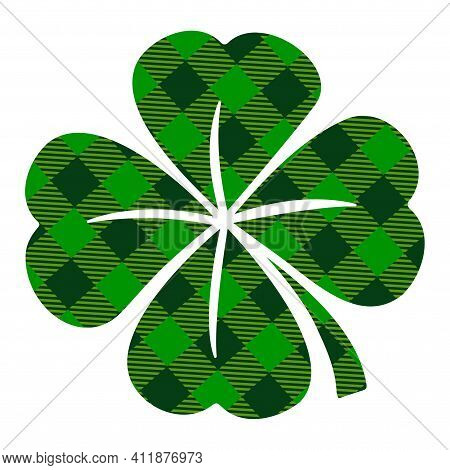 Four Leaf Clover - Funny St Patrick's Day Inspirational Lettering Design For Posters, Flyers, T-shir