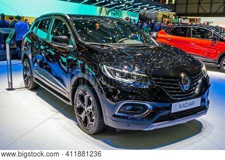 New Renault Kadjar Car At The 89th Geneva International Motor Show. Geneva, Switzerland - March 6, 2