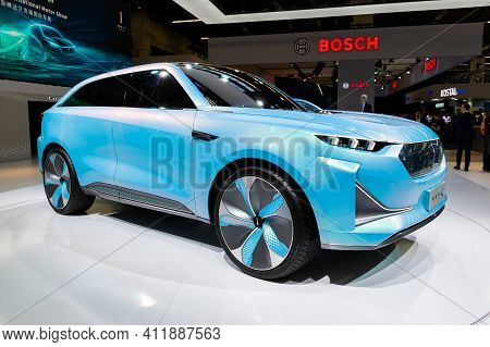 Frankfurt, Germany - Sep 10, 2019: Great Wall Motors Wey-x Concept Car Showcased At The Frankfurt Ia