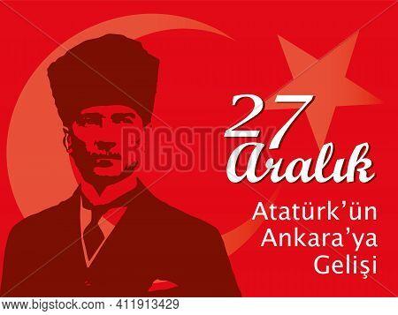 Vector Illustration For 19 Mayis Ataturk'u Anma, Gençlik Ve Spor Bayrami. (translation: May 19, Comm