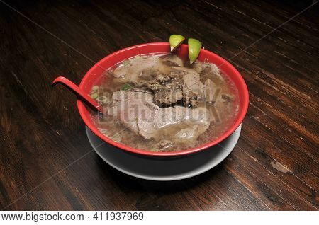 Delicious And Authentic Vietnamese Dish Known As Beef Pho