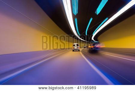 Night driving speed concept
