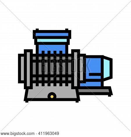 Membrane Compressor Color Icon Vector. Membrane Compressor Sign. Isolated Symbol Illustration