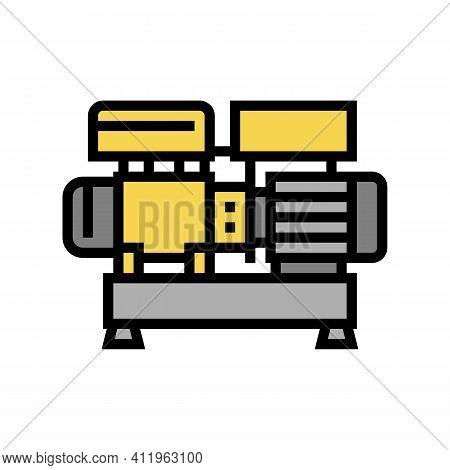 Centrifugal Air Compressor Color Icon Vector. Centrifugal Air Compressor Sign. Isolated Symbol Illus