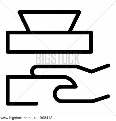 Careless Person Icon. Outline Careless Person Vector Icon For Web Design Isolated On White Backgroun