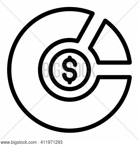 Media Target Audience Icon. Outline Media Target Audience Vector Icon For Web Design Isolated On Whi