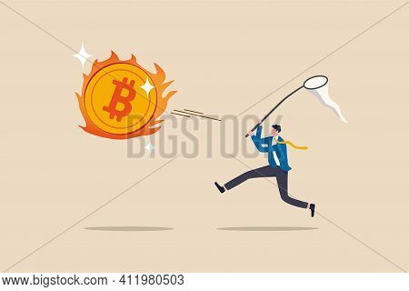 Chasing High Performance Bitcoin Crypto Currency In Bull Market, Greedy Speculation In Bitcoin Tradi