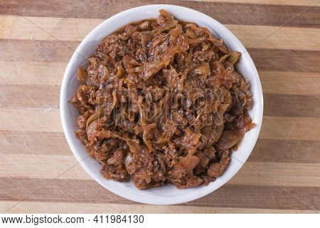Vegeterian Version Of Old Polish Stewed Cabbage
