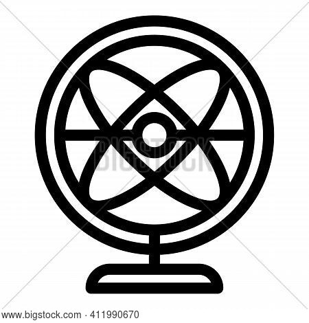 Perpetual Motion Balance Icon. Outline Perpetual Motion Balance Vector Icon For Web Design Isolated