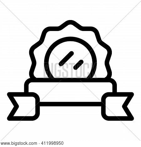 Champion Award Icon. Outline Champion Award Vector Icon For Web Design Isolated On White Background